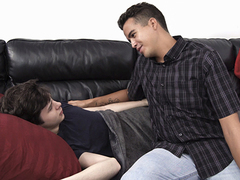 Hunky Johnny Bandera misses the admirable ol' times when he plus his jaw-dropping junior stepbrother common to cuddle in couch. Today, he relives those sizzling memories, gliding his crimson red-hot fuck-stick in the youngster's thirsting sphincter until
