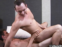 College Dudes - Brandon Flesh-coloured fucks Devin Adams
